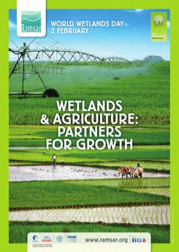 Το πόστερ του Ραμσάρ για το 2014 ως έτος υδροτόπων και γεωργίας