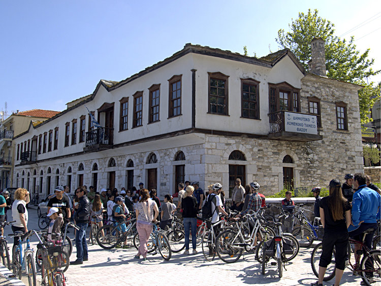 Ποδηλατοπορεία Θάσος 2014