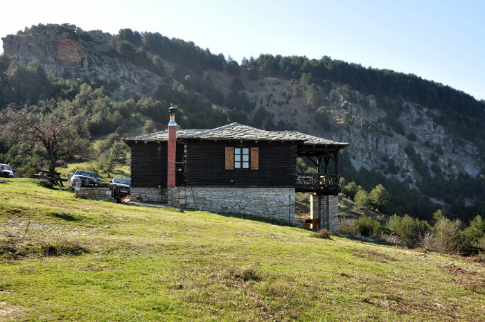Το ορειβατικό καταφύγιο στο Υψάριο